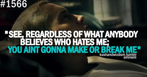 Eminem Quotes And Lyrics...