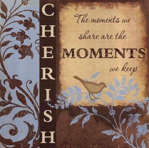 Cherish Poster Print by Jennifer Pugh (12 x 12)