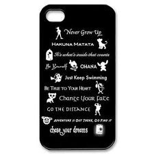 quotes disney lessons learned mash up For iphone 4 4s 5 5s 5c Black ...