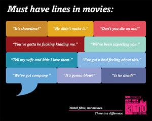 Movies Cliches: The Must Have Lines In Movies