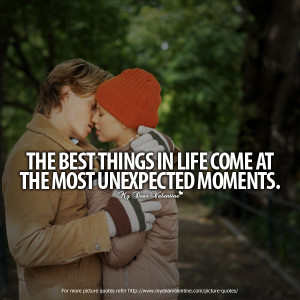 Deep Love Quotes - The best things in life