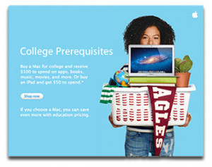 Apple Pushes New Back to School Deals