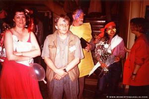 Lee Wood Norman Spinrad John Brunner Li Brunner at EuROcon 1994