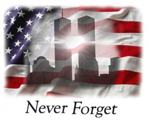We will always remember! One nation under God!
