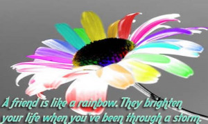 Friendships Is Like Rainbow