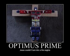 Optimus Prime Vs Liberty Prime