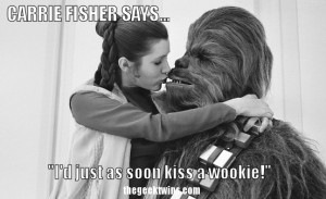 Princess Leia's Best Quotes with Carrie Fisher's Funniest Pictures ...