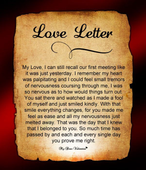 Love Letter For Him #88