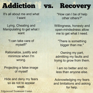 addiction recovery