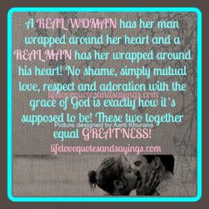 Real Men Respect Women Quotes