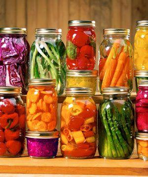 Home Canning Vegetables