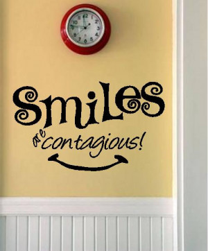 Quote-Smiles Are Contagious-special buy any 2 quotes and get a 3rd ...