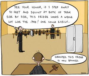Apple Lawyer Defends iPad - Funny Jokes