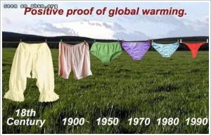 지구온난화의 결정적 증거.... ㅋㅋ