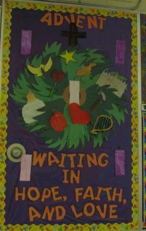 catholic school bulletin boards | Spirit of the Season - Simcoe ...