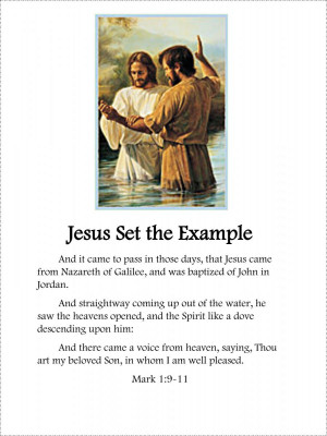 Lds Baptism Quotes Baptism booklet