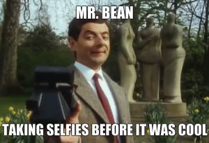 Mr. Bean did this first | Funny Pictures and Quotes