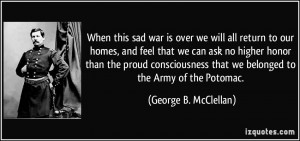 Quotes by George B Mcclellan
