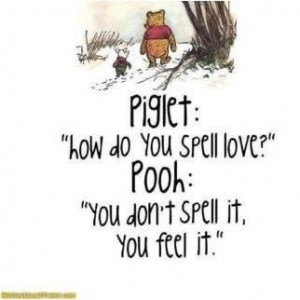 Pooh and Piglet know about friendship.