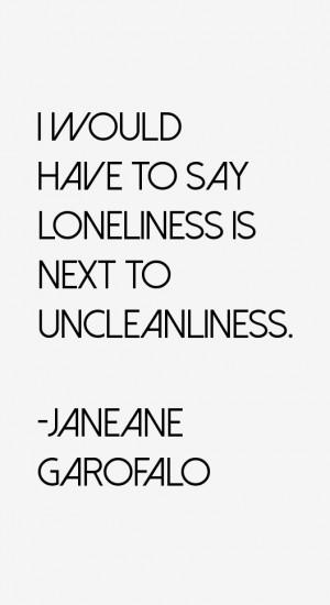 Janeane Garofalo Quotes amp Sayings