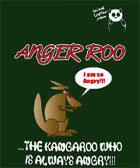 funny man kangaroo tee shirts with sayings slogans cartoon printings