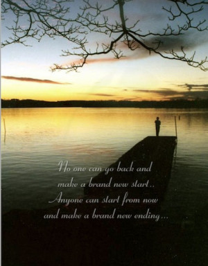brand new day new beginning picture quote