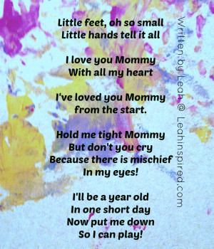 Baby Footprints Poem For Daddy
