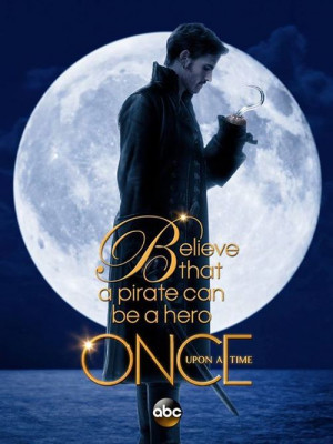 Captain Hook } once Upon a Time