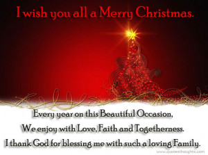 merry christmas family quotes