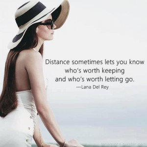 ... lets you know who's worth keeping and who's worth letting go