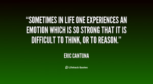 Sometimes in life one experiences an emotion which is so strong that ...