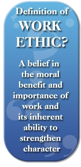 So what does it truly mean to have work ethic? Does it mean working ...