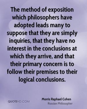Morris Raphael Cohen Quotes