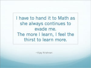 ... Math Quotes? Do you have any other inspirational quotes about math to
