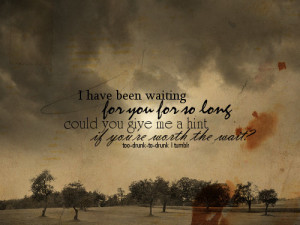 ... hatred to break it to you, but that very waiting power NOT be you