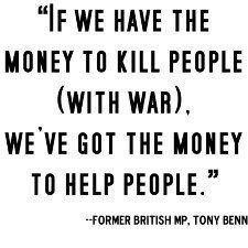Today's Quotes: Always Money For War
