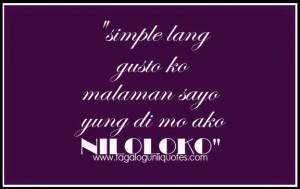 Tagalog Sweet Love Quotes 2014