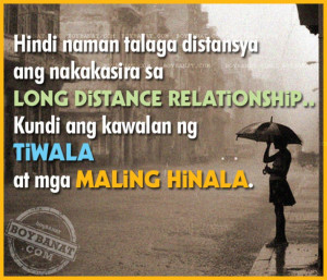 ... Pinoy Long Distance Relationship Love Quotes and Sayings Boy Banat