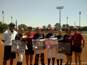 ... Senior Day celebration. Come cheer on the ladies in their last home