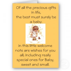 Of all the Precious gifts in Life – Baby Quote