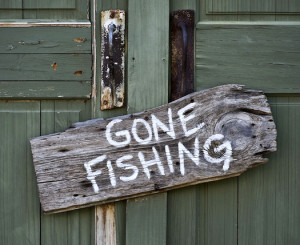 gone fishing quotes