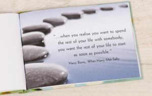 ... Personalized Valentine's Day Gifts / Personalized Book of Love Quotes
