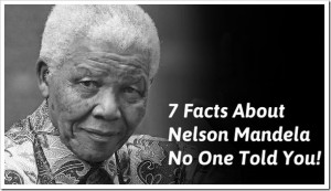 ... facts about Nelson Mandela and his movement of anti-apartheid