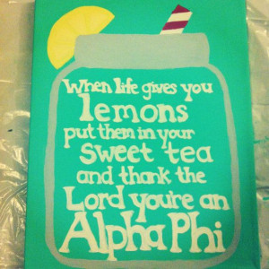 Sorority Quote Canvas Custom Made by HannMadeCrafts on Etsy, $15.00