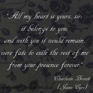 Jane Eyre' Quote - Charlotte Brontë