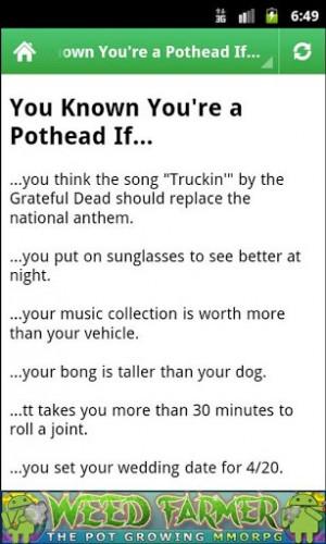 Marijuana Jokes
