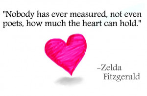 Zelda Fitzgerald #love #heart