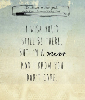 Go Back > Gallery For > We The Kings Quotes From Lyrics