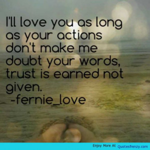 Trust Love Relationships Quotes Hurt Quote