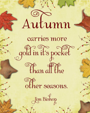 Fall Leaves Quotes Falling leaves and sweater
